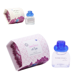サムタイム ウィズ ラヴ ミニ香水 EDP・BT 7ml SOMETIMES WITH LOVE ALCOOL DENAT AQUA PARFUM