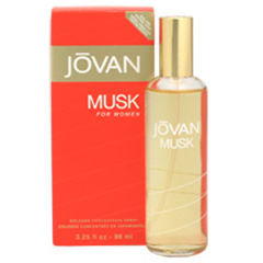 ジョーバン ムスク フォーウーメン EDC・SP 96ml JOVAN MUSK FOR WOMEN COLOGNE SPRAY