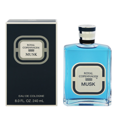 ロイヤル コペンハーゲン ムスク EDC・BT 240ml ROYAL COPENHAGEN MUSK EAU DE COLOGNE