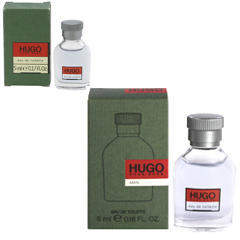 ヒューゴ ミニ香水 EDT・BT 5ml HUGO EAU DE TOILETTE