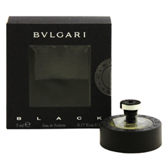 ブルガリ ブラック ミニ香水 EDT・BT 5ml BVLGARI BLACK EAU DE TOILETTE