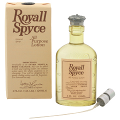 ロイヤル スパイス EDC・SP 120ml ROYALL SPYCE ALL PURPOSE LOTION BODY COLOGNE SPRAY