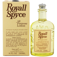ロイヤル スパイス EDC・BT 240ml ROYALL SPYCE ALL PURPOSE LOTION BODY COLOGNE