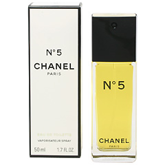 No.5 (箱なし) EDT・SP 50ml N゜5 EAU DE TOILETTE SPRAY