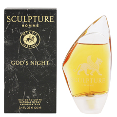 スカルプチャー オム ゴッズナイト (箱なし) EDT・SP 100ml SCULPTURE HOMME GOD'S NIGHT EAU DE TOILETTE SPRAY