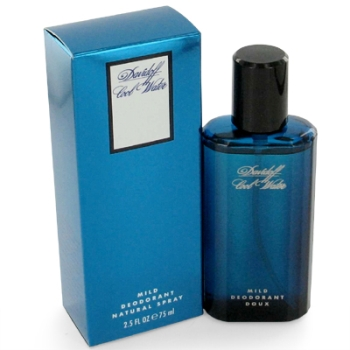 DavidoffCOOL WATER by Davidoff For Men Deodorant spray (Glass)