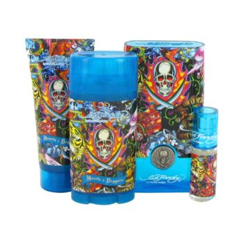 Ed HardyEd Hardy Hearts & Daggers by Ed Hardy For Men Gift Set