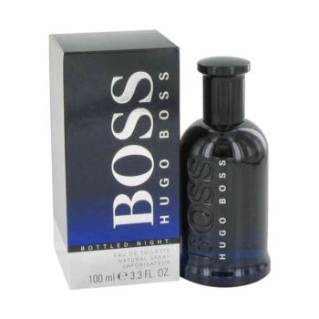 Hugo BossBoss Bottled Night by Hugo Boss For Men EDT Spray