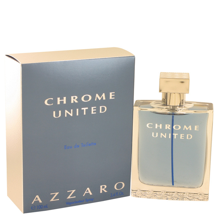 AzzaroChrome United by Azzaro for Men EDT Spray