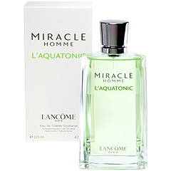 ミラク オム アクアトニック EDT・SP 125ml MIRACLE HOMME L AQUATONIC ENERGIZING EAU DE TOILETTE SPRAY