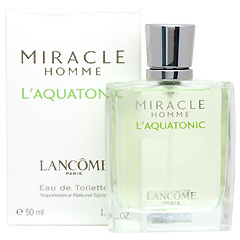 ミラク オム アクアトニック EDT・SP 50ml MIRACLE HOMME L AQUATONIC ENERGIZING EAU DE TOILETTE SPRAY
