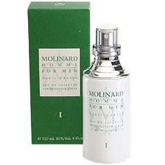モリナール オム 1 EDT・SP 120ml MOLINARD HOMME 1 EAU DE TOILETTE SPRAY