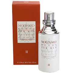 モリナール オム 2 EDT・SP 120ml MOLINARD HOMME 2 FOR MEN EAU DE TOILETTE SPRAY