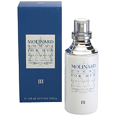 モリナール オム 3 EDT・SP 120ml MOLINARD HOMME 3 FOR MEN EAU DE TOILETE SPRAY