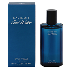 クールウォーター メンズ EDT・SP 75ml COOL WATER EAU DE TOILETTE SPRAY