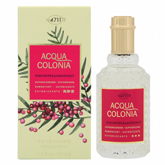 4711 アクアコロニア ピンクペッパー&グレープフルーツ EDC・SP 50ml 4711 ACQUA COLONIA PINKPEPPER & GRAPEFRUIT EAU DE COLOGNE SPRAY