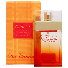 ソー ブリティッシュ EDT・SP 60ml SO BRITISH FOR WOMAN EAU DE TOILETTE SPRAY
