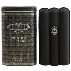 キューバ プレステージ ブラック フォーメン EDT・SP 90ml CUBA PRESTIGE BLACK FOR MEN EAU DE TOILETTE SPRAY