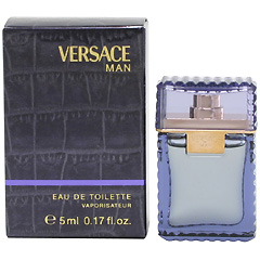 ヴェルサーチ マン ミニ香水 EDT・BT 5ml VERSACE MAN EAU DE TOILETTE