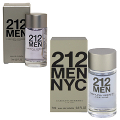 212 フォーメン ミニ香水 EDT・BT 7ml 212 MEN EAU DE TOILETTE
