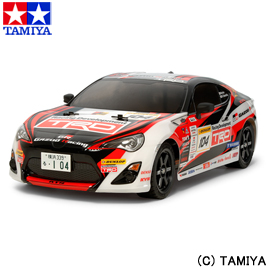 タミヤ1/10 電動RCカー No.574 GAZOO Racing TRD 86 (TT-02シャーシ)